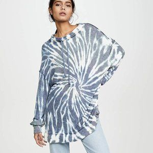 Free People Best Catch Long Sleeve Tie Dye Tee-XS